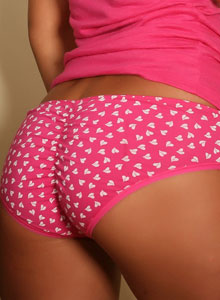 Adorable Alluring Vixen Aaliyah Love Teases In A Tight Pink Top And Cute Panties - Picture 5