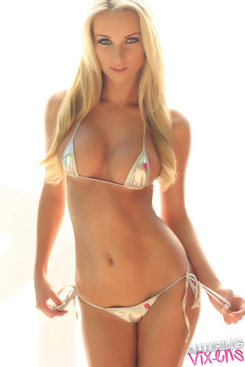 Stunning blonde babe with amazing curvy ass railed hard 4