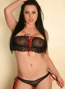 Aura Teases In A Skimpy Semi Sheer Top And Matching Panties - Picture 2