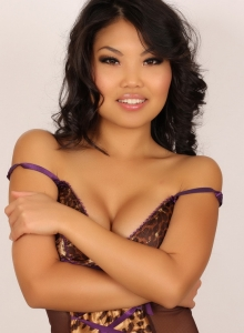 Cute Babe Kat Teases With Her Perky Boobs In Her Sexy Lingerie - Picture 8