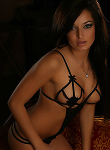 Strappy Black Lingerie - Picture 9