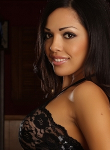 Karla Shows Off Her Stunning Curves In Her Skimpy Little Black Lace Outfit - Picture 7