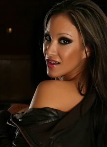 Vixens Babe Kira Teases With Her Big Juicy Tits In Just A Leather Jacket - Picture 12