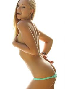 Alluring Vixen Lena Nicole Teases In A Very Tiny String Bikini - Picture 12